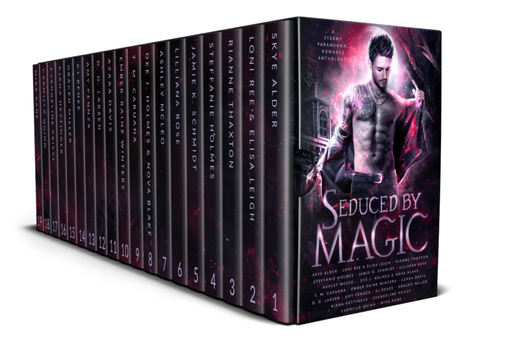 Josi Beck.Seduced by Magic.A Steamy Paranormal Romace Anthology.3D